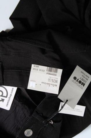 Дамски дънки Topshop Moto, Размер XS, Цвят Черен, 91% памук, 7% полиестер, 2% еластан, Цена 15,07лв.