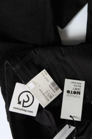 Дамски дънки Topshop Moto, Размер XXS, Цвят Черен, 91% памук, 7% полиестер, 2% еластан, Цена 15,07лв.