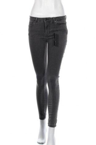 Дамски дънки Vero Moda, Размер S, Цвят Сив, 79% памук, 19% полиестер, 2% еластан, Цена 34,10лв.