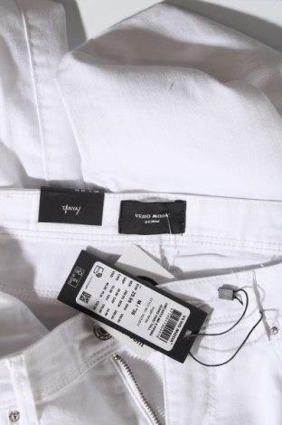 Дамски дънки Vero Moda, Размер M, Цвят Бял, 79% памук, 18% полиестер, 3% еластан, Цена 15,63лв.