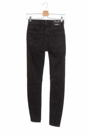 Дамски дънки Weekday, Размер XS, Цвят Черен, 88% памук, 9% полиестер, 3% еластан, Цена 17,01лв.