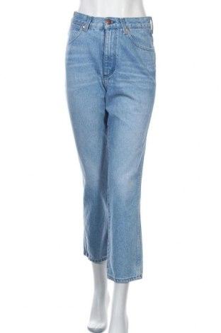 Дамски дънки Wrangler, Размер S, Цвят Син, Памук, Цена 34,98лв.