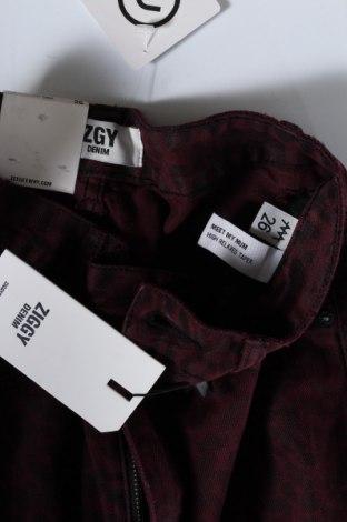 Дамски дънки Ziggy.denim, Размер S, Цвят Червен, Памук, Цена 25,73лв.