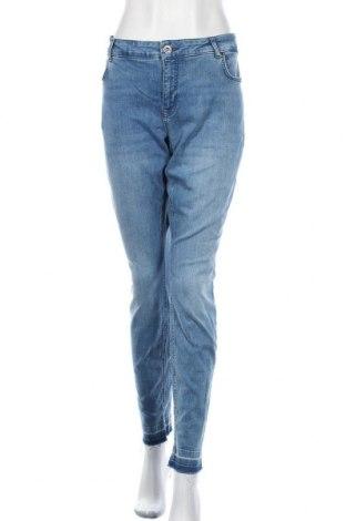 Дамски дънки Zizzi, Размер XL, Цвят Син, 98% памук, 2% еластан, Цена 26,66лв.