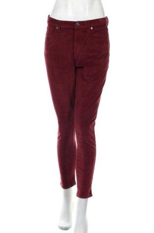 Γυναικείο κοτλέ παντελόνι Banana Republic, Μέγεθος L, Χρώμα Κόκκινο, 97% πολυεστέρας, 3% ελαστάνη, Τιμή 15,31€