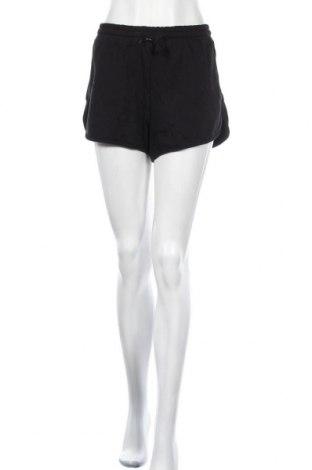 Γυναικείο κοντό παντελόνι, Μέγεθος L, Χρώμα Μαύρο, 70% βαμβάκι, 30% πολυεστέρας, Τιμή 15,08€