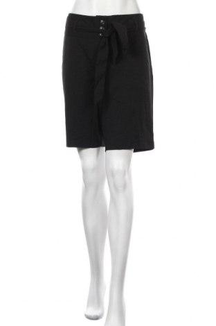 Дамски къс панталон Hot Options, Размер XL, Цвят Черен, Полиестер, вискоза, еластан, Цена 5,28лв.