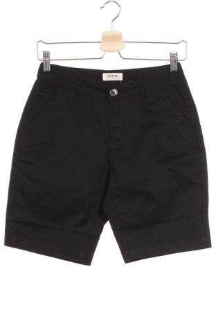 Γυναικείο κοντό παντελόνι, Μέγεθος XS, Χρώμα Μαύρο, 98% βαμβάκι, 2% ελαστάνη, Τιμή 1,59€
