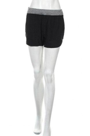 Дамски къс панталон Active By Tchibo, Размер S, Цвят Черен, 90% полиестер, 10% еластан, Цена 13,86лв.