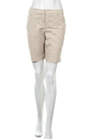 Дамски къс панталон Charter Club, Размер S, Цвят Бежов, 97% памук, 3% еластан, Цена 21,42лв.