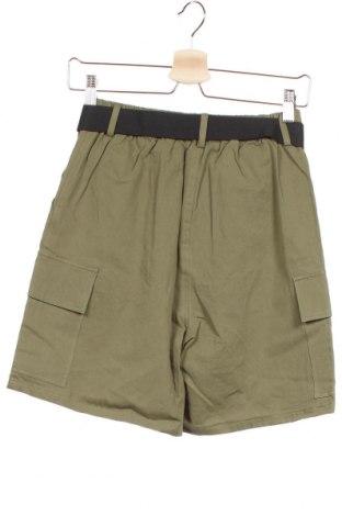Дамски къс панталон Even&Odd, Размер XS, Цвят Зелен, Памук, Цена 27,00лв.