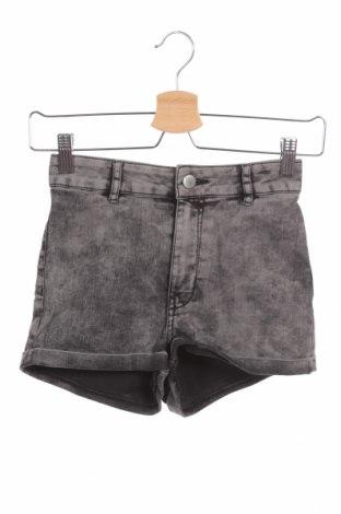 Γυναικείο κοντό παντελόνι H&M Divided, Μέγεθος XS, Χρώμα Γκρί, 72% βαμβάκι, 26% πολυεστέρας, 2% ελαστάνη, Τιμή 9,74€