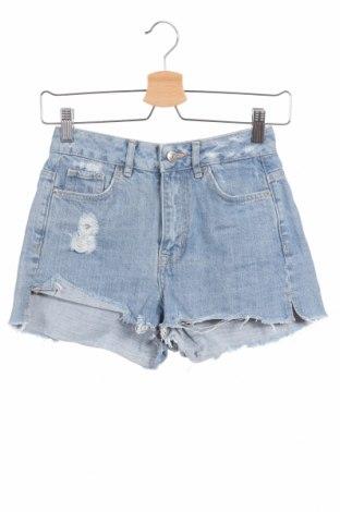 Γυναικείο κοντό παντελόνι H&M Divided, Μέγεθος XS, Χρώμα Μπλέ, Βαμβάκι, Τιμή 13,45€