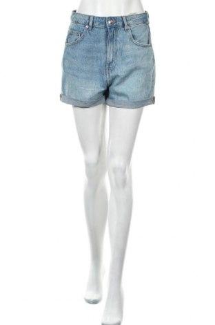 Γυναικείο κοντό παντελόνι H&M Divided, Μέγεθος M, Χρώμα Μπλέ, 100% βαμβάκι, Τιμή 24,12€