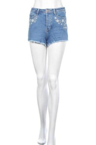 Γυναικείο κοντό παντελόνι Hollister, Μέγεθος XS, Χρώμα Μπλέ, 98% βαμβάκι, 2% ελαστάνη, Τιμή 10,39€