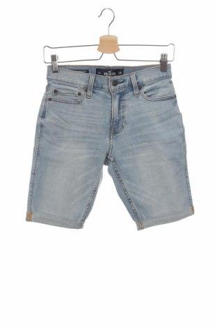 Γυναικείο κοντό παντελόνι Hollister, Μέγεθος S, Χρώμα Μπλέ, 91% βαμβάκι, 7% πολυεστέρας, 2% ελαστάνη, Τιμή 17,58€