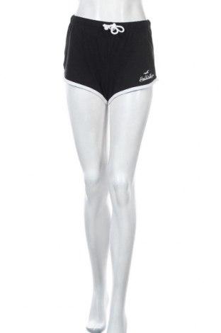 Γυναικείο κοντό παντελόνι Hollister, Μέγεθος S, Χρώμα Μαύρο, 57% βαμβάκι, 38% πολυεστέρας, 5% ελαστάνη, Τιμή 14,74€