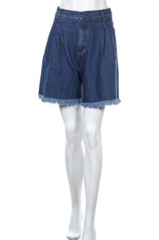Γυναικείο κοντό παντελόνι Ksenia Schnaider, Μέγεθος S, Χρώμα Μπλέ, 100% βαμβάκι, Τιμή 111,73€