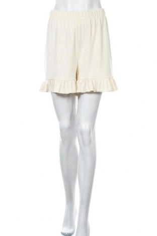 Γυναικείο κοντό παντελόνι Nly Trend, Μέγεθος L, Χρώμα  Μπέζ, 60% πολυεστέρας, 32% βισκόζη, 8% ελαστάνη, Τιμή 17,01€
