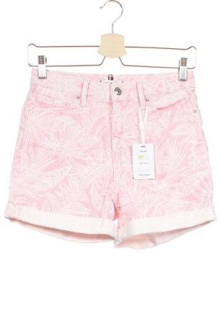 Γυναικείο κοντό παντελόνι Tommy Hilfiger, Μέγεθος XS, Χρώμα Ρόζ , 98% βαμβάκι, 2% ελαστάνη, Τιμή 41,02€