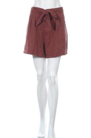 Γυναικείο κοντό παντελόνι Vero Moda, Μέγεθος XL, Χρώμα Κόκκινο, Lyocell, Τιμή 17,78€