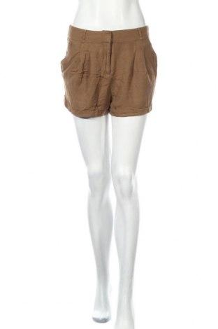 Дамски къс панталон Xxi, Размер M, Цвят Кафяв, Вискоза, Цена 17,64лв.
