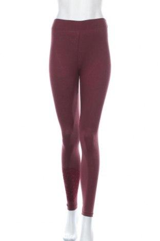 Γυναικείο κολάν Desigual, Μέγεθος S, Χρώμα Κόκκινο, 95% βαμβάκι, 5% ελαστάνη, Τιμή 23,97€