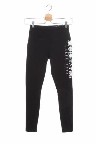 Dámské legíny  Hollister, Velikost XS, Barva Černá, 90% bavlna, 10% elastan, Cena  500,00Kč