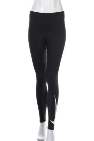 Γυναικείο κολάν Nike, Μέγεθος M, Χρώμα Μαύρο, 80% πολυεστέρας, 20% ελαστάνη, Τιμή 38,27€