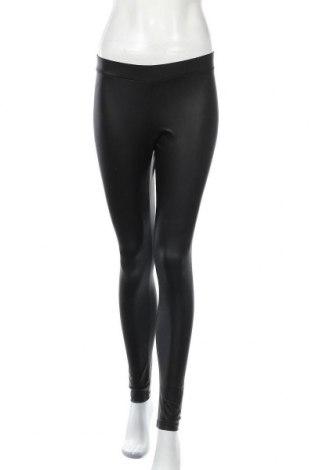 Γυναικείο κολάν Pieces, Μέγεθος M, Χρώμα Μαύρο, 90% πολυεστέρας, 10% ελαστάνη, Τιμή 15,16€