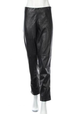 Γυναικείο παντελόνι δερμάτινο H&M Divided, Μέγεθος 3XL, Χρώμα Μαύρο, Δερματίνη, Τιμή 7,47€