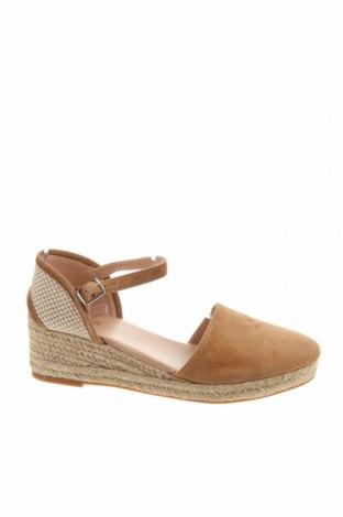 Γυναικεία παπούτσια Aldo, Μέγεθος 37, Χρώμα  Μπέζ, Φυσικό σουέτ, κλωστοϋφαντουργικά προϊόντα, Τιμή 24,49€
