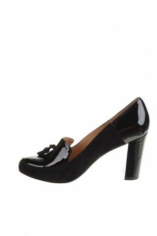 Дамски обувки Anna Field, Размер 40, Цвят Син, Естествен велур, еко кожа, Цена 34,56лв.