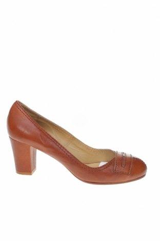 Γυναικεία παπούτσια Chloé, Μέγεθος 39, Χρώμα Καφέ, Γνήσιο δέρμα, Τιμή 79,24€