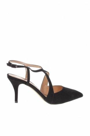 Дамски обувки Dorothy Perkins, Размер 42, Цвят Черен, Текстил, Цена 44,25лв.