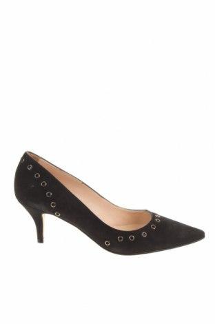 Γυναικεία παπούτσια Elodie, Μέγεθος 39, Χρώμα Μαύρο, Φυσικό σουέτ, Τιμή 43,30€