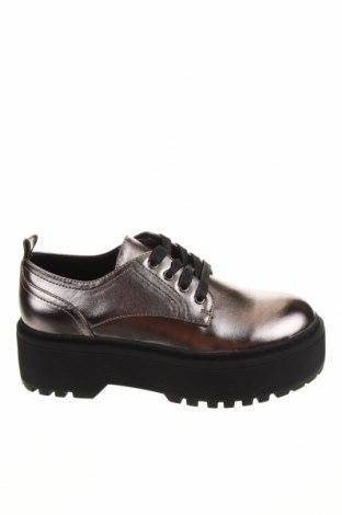 Γυναικεία παπούτσια Even&Odd, Μέγεθος 37, Χρώμα Γκρί, Δερματίνη, Τιμή 22,81€