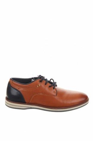 Дамски обувки Friboo, Размер 35, Цвят Кафяв, Естествена кожа, Цена 31,68лв.