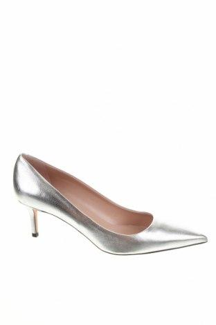 Γυναικεία παπούτσια Hugo Boss, Μέγεθος 42, Χρώμα Γκρί, Γνήσιο δέρμα, Τιμή 151,24€