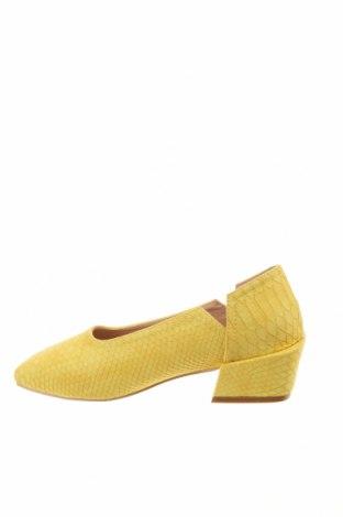 Дамски обувки Lost Ink, Размер 36, Цвят Жълт, Еко кожа, Цена 31,05лв.