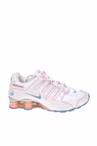 Дамски обувки Nike, Размер 38, Цвят Бял, Естествена кожа, еко кожа, Цена 51,00лв.