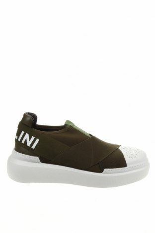 Γυναικεία παπούτσια Pollini, Μέγεθος 39, Χρώμα Πράσινο, Κλωστοϋφαντουργικά προϊόντα, δερματίνη, Τιμή 129,59€