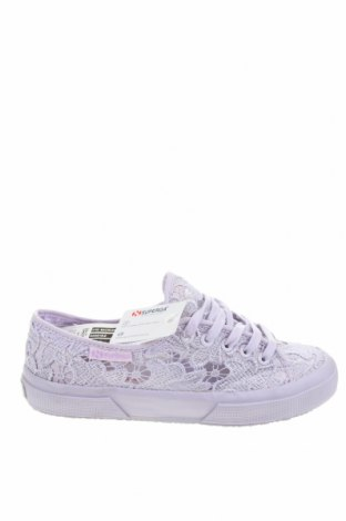 Дамски обувки Superga, Размер 37, Цвят Лилав, Текстил, Цена 74,25лв.
