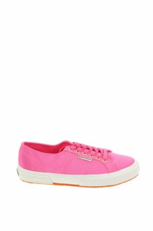 Дамски обувки Superga, Размер 39, Цвят Розов, Текстил, Цена 59,95лв.