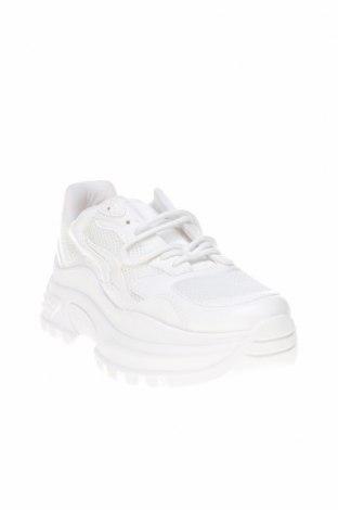 Дамски обувки Topshop, Размер 42, Цвят Бял, Еко кожа, текстил, Цена 53,40лв.