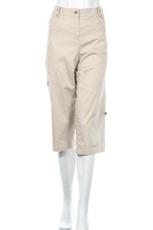 Дамски панталон, Размер XL, Цвят Бежов, 97% памук, 3% еластан, Цена 3,00лв.