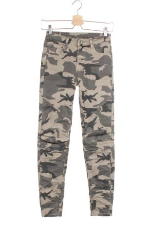 Дамски панталон, Размер XXS, Цвят Зелен, Цена 8,14лв.