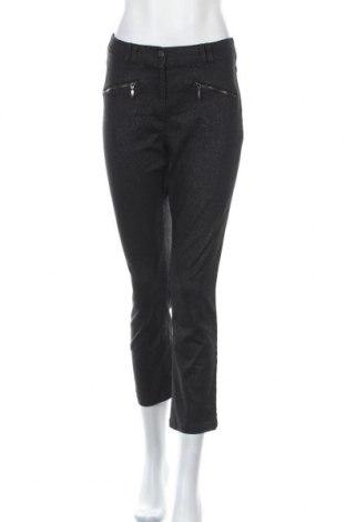 Дамски панталон, Размер M, Цвят Черен, 73% памук, 25% полиестер, 2% еластан, Цена 7,35лв.