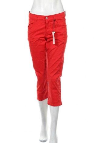 Дамски панталон Angels, Размер S, Цвят Червен, 98% памук, 2% еластан, Цена 16,52лв.