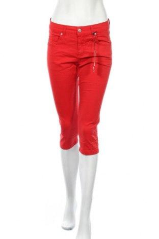 Дамски панталон Angels, Размер S, Цвят Червен, 98% памук, 2% еластан, Цена 15,68лв.